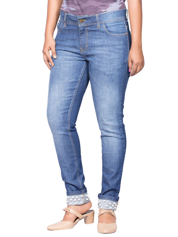 Wulf Women's Regular Fit Jean's